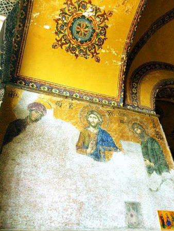 Musée et basilique Sainte-Sophie : Mosaics