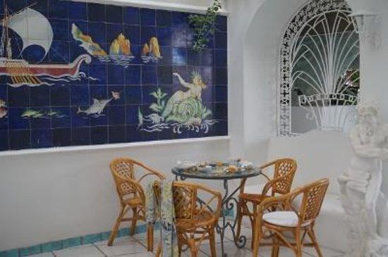 Hotel Gatto Bianco: ホテル 朝食会場
