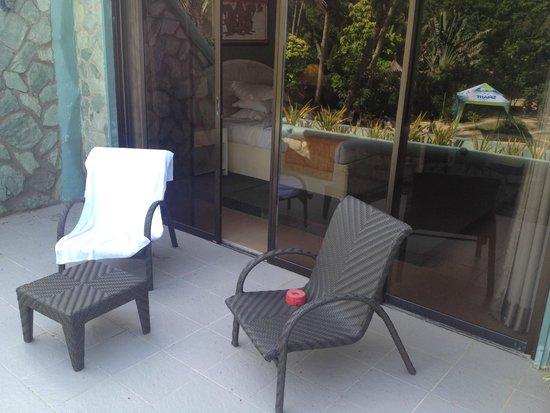 Boracay Terraces Resort: Balcony