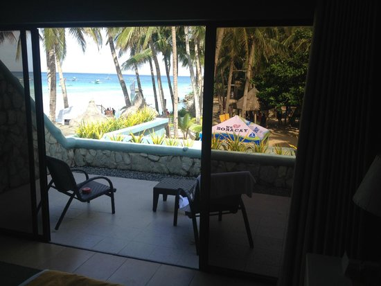Boracay Terraces Resort: View from room