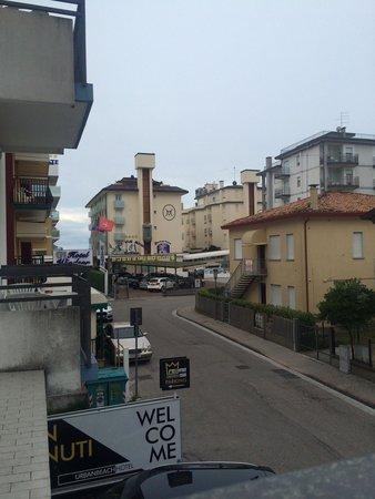 Hotel Regina: Вид с балкона
