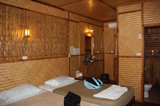 River Kwai Jungle Rafts Resort: la chambre