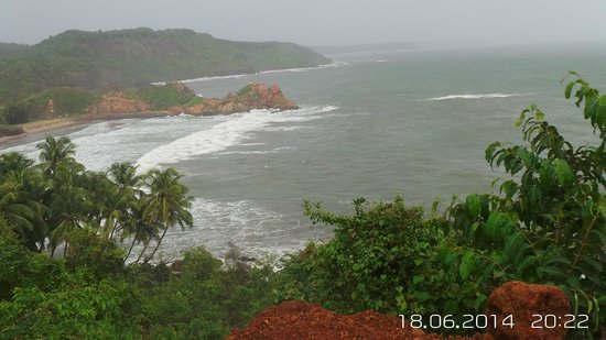 Maachli Homestay: sightseeing from the fort