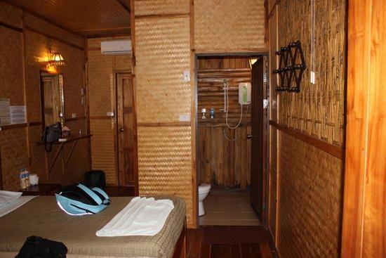 River Kwai Jungle Rafts Resort: le lodge en bambou