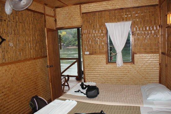 River Kwai Jungle Rafts Resort: le lodge