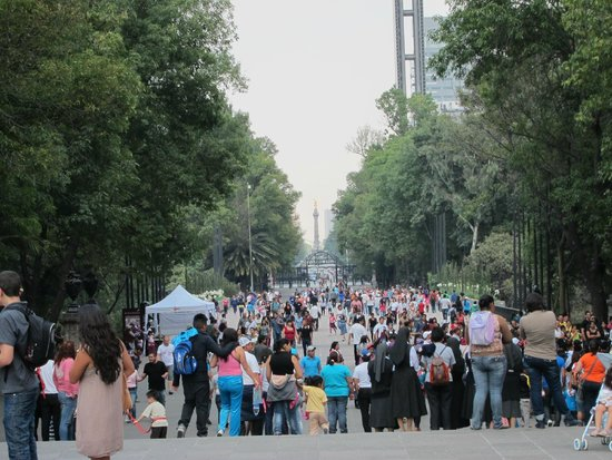 Parque Chapultepec: entrance way