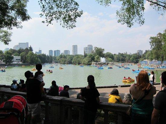 Parque Chapultepec: lake