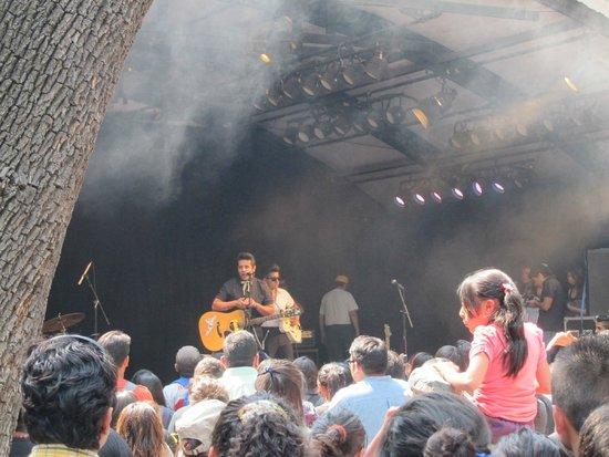 Parque Chapultepec: band
