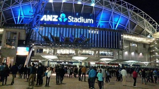 ANZ Stadium entry/LED sign
