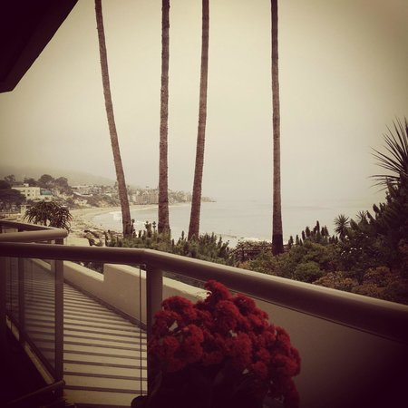 The Inn At Laguna Beach: Morning Breakfast View