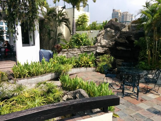 Pan Pacific Manila : Lovely rooftop garden