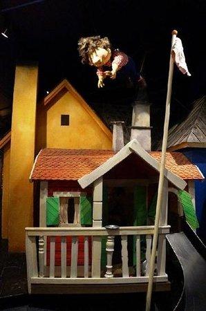 Junibacken: домик Карлсона