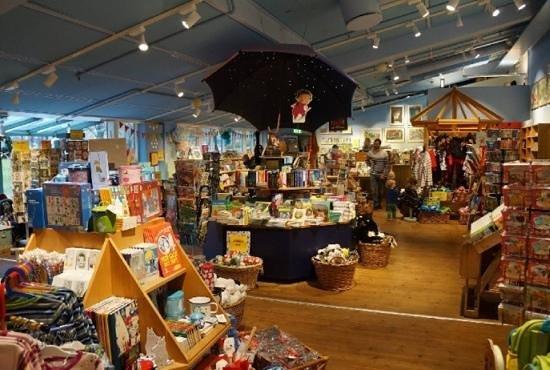 Junibacken: магазин