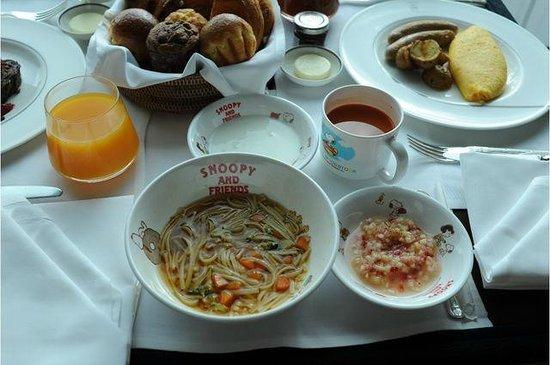 The Peninsula Tokyo: 10ヶ月の子どもの離乳食