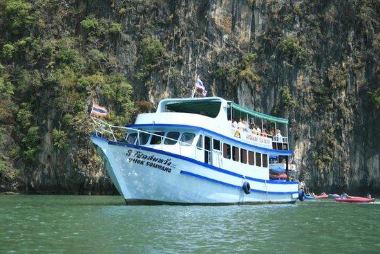 Andaman Sea Kayaks: Big boat