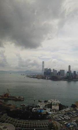 The Excelsior, Hong Kong: 部屋から眺め
