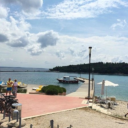 Island Hotel Istra: Great view from the pool area