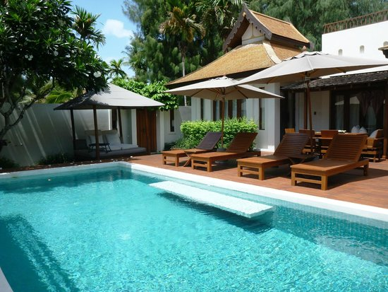 SALA Samui Resort And Spa: Pool of the Presidential Villa