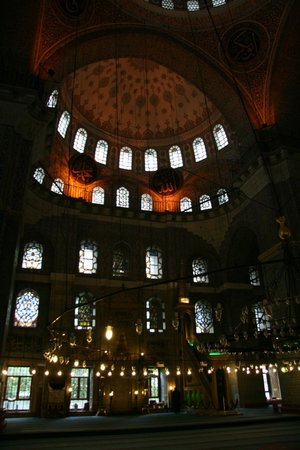 Yeni Cami: Inside the New Mosque