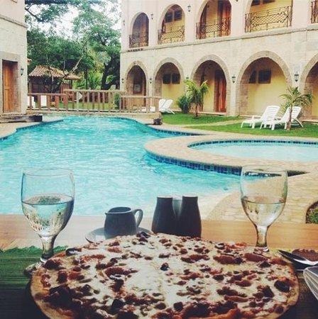 Corto del Mar Hotel: Pool right beside the resto