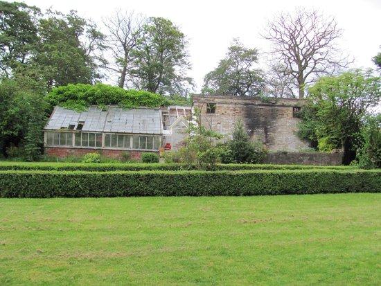 Sniperley Hall : Greenhouse & Orangery - being restored