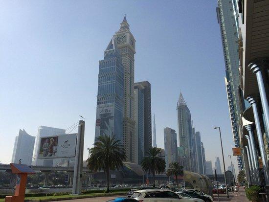 Towers Rotana : close to the hotel