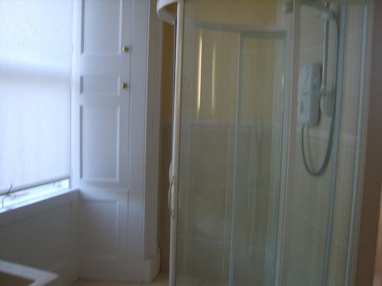 Ford Bank Country House Hotel: large shower