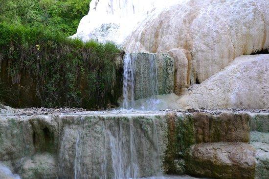 Sulphur Springs - Picture of Fosso Bianco - Bagni San Filippo, Bagni ...