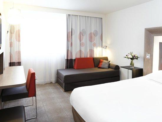 Novotel Rennes Alma: Chambre