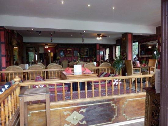 Nakhon Thai: The (empty) restaurant