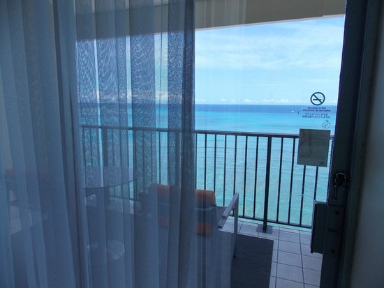 Sheraton Waikiki: Balcony had great views