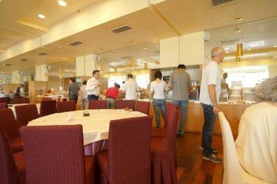 Grand Hotel Salerno: 朝食会場
