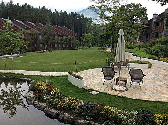 Hotel Sierra resort Hakuba : Beautiful even in the rain