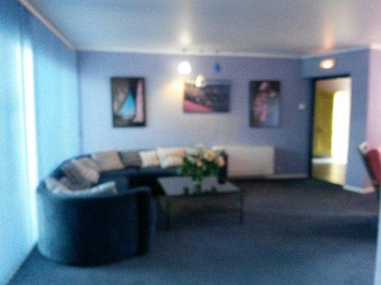 Le Quetzal Hotel : Hall d'accueil étage 1