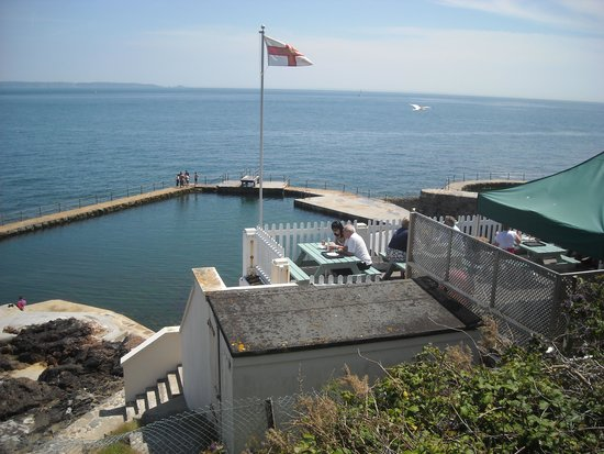 La Vallette Underground Military Museum: View out to Sea from nearby La Valette