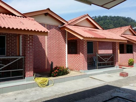 Sea View Hotel & Holiday Resort : Chalets with Sea Views