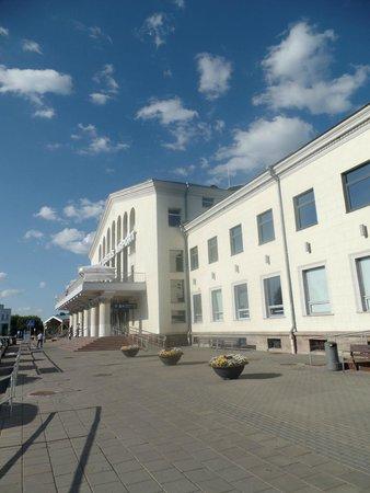 AirInn Vilnius Hotel: View towards the terminal
