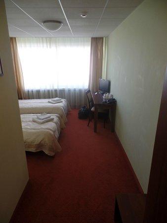 AirInn Vilnius Hotel: The room first view