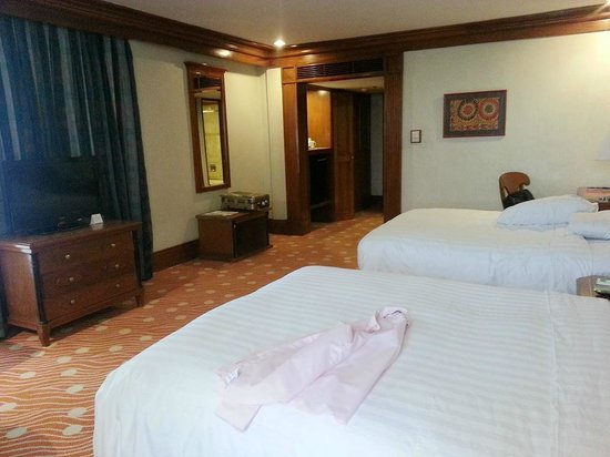 Holiday Inn Manila Galleria : spacious room