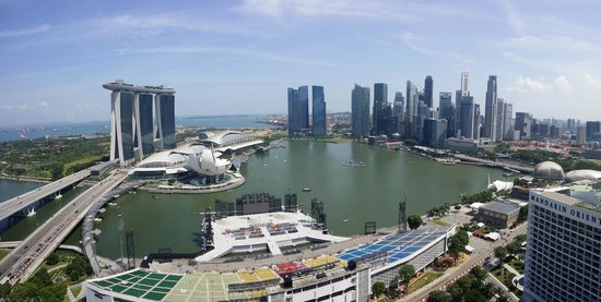 The Ritz-Carlton, Millenia Singapore: View from our room