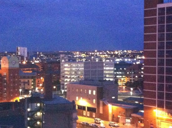 The Queens - Leeds: View from balcony