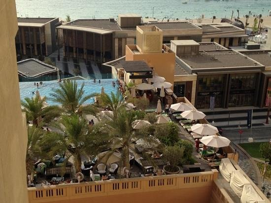 Sofitel Dubai Jumeirah Beach: vue de notre suite junior