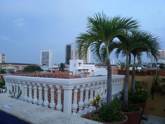Casa La Fe - a Kali Hotel : View from the rooftop pool