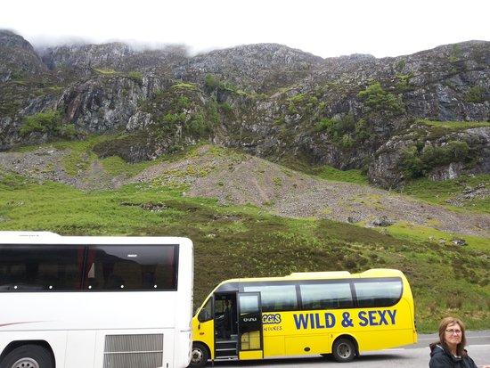 Highland Explorer Tours: The Bus @ Glencoe