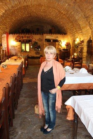 Agriturismo il Bastione: sala da pranzo