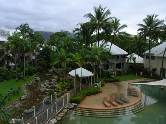 Coral Sands Beachfront Resort: View from room