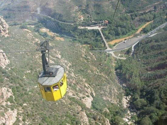 Ofelias Hotel: cable car
