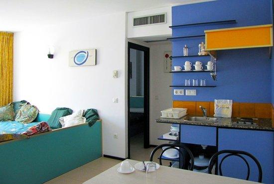 Apartaments Xaine Sun: Los apartamentos