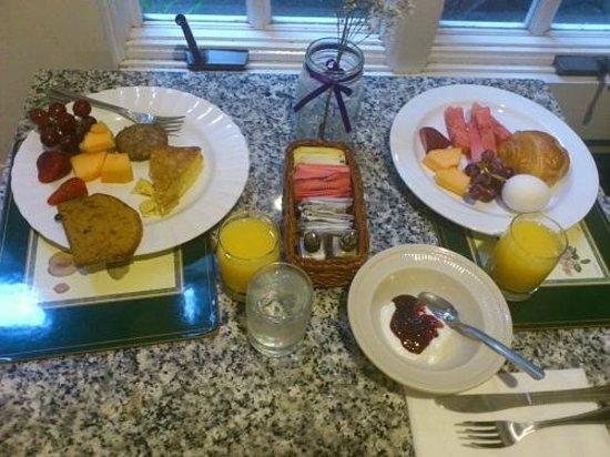 White Swan Inn: 3日目の朝食