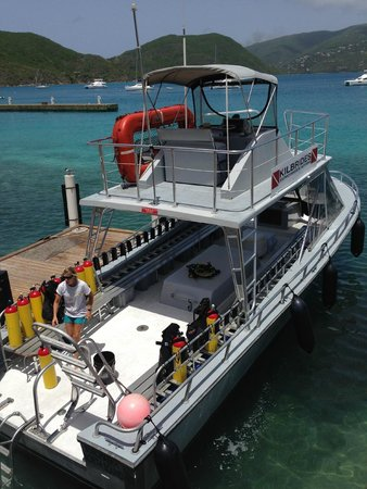 Sunchaser Scuba Ltd. : The dive boat